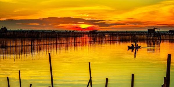 Vietnam Hue dawn