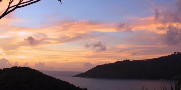 Phuket zonsondergang