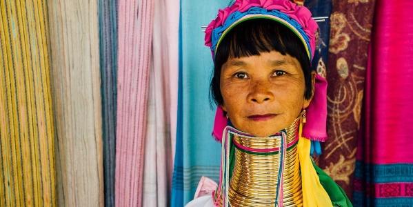 Thailand Karenvrouw