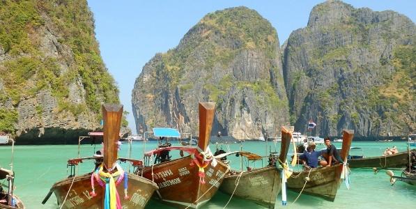 Thailand westkust boten