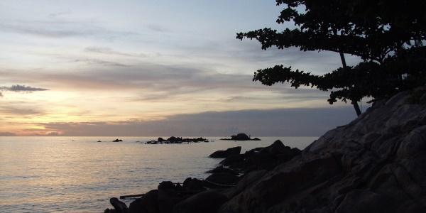 Thailand zonsondergang Koh Phangan