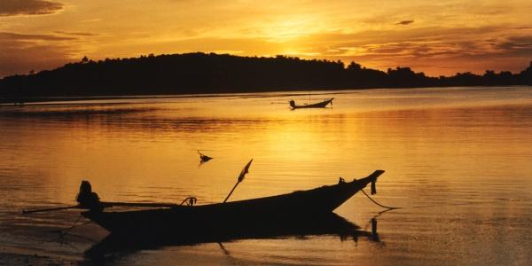 Thailand zonsopkomt Koh Samui