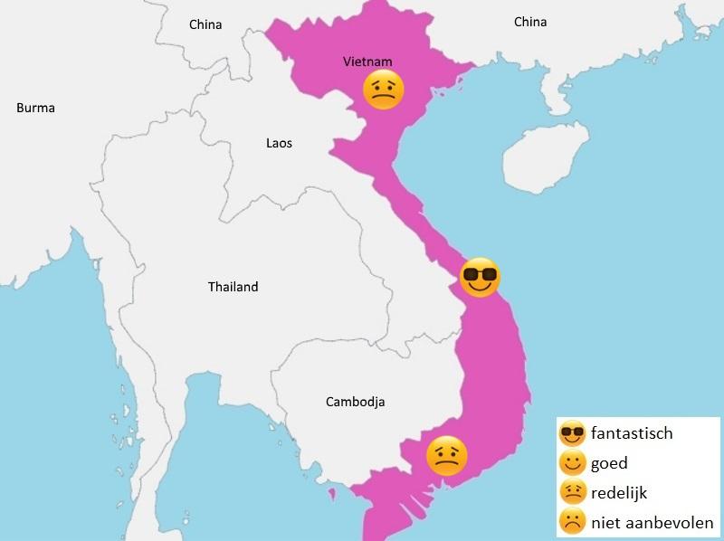 map weer vietnam mei