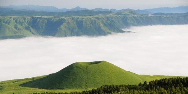 aso-vulkaan-japan
