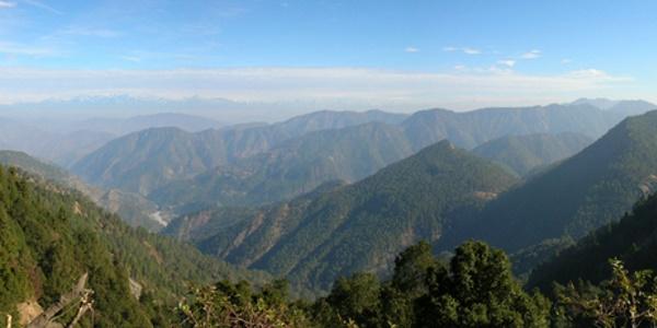 indiaas-berglandschap