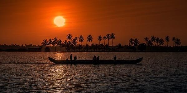 kerala-zonsondergang