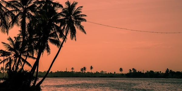 zonsondergang-india