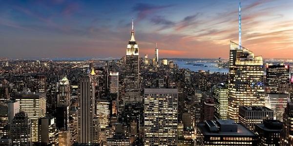 New York schemering