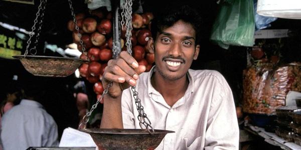 Winkelmedewerker Sri Lanka