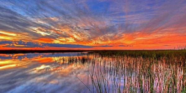Zonsondergang Florida