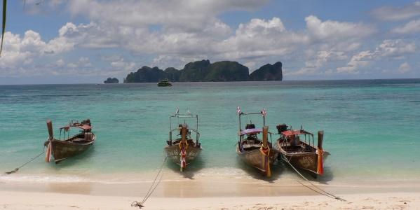 Thailand uitzicht vanaf Ko Phi Phi