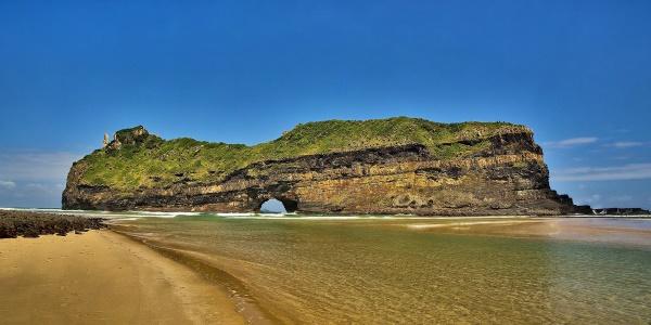 Zuid-Afrikaans strand - Coffee bay