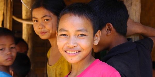 Kinderen in Laos