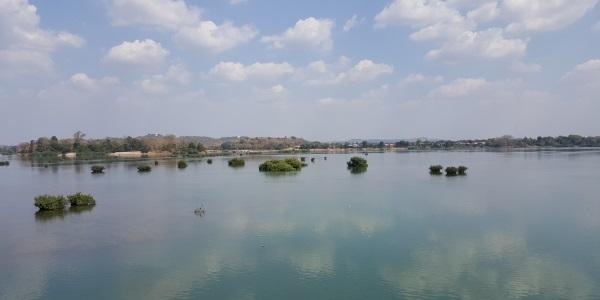 uitzicht vanaf Don Khong