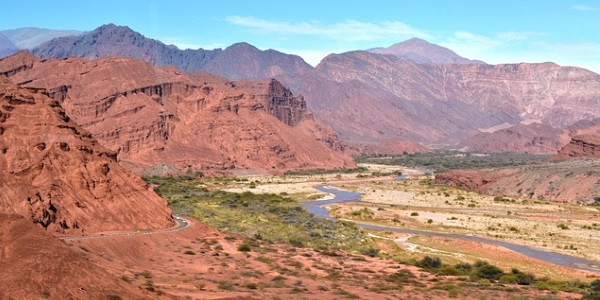 Bergachtig Noordwest-Argentinie